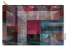 Quilt Carry-all Pouch by Iris Gelbart