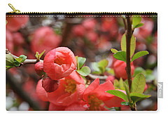 Quince Blossoms Carry-all Pouch