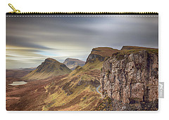 Carry-all Pouch featuring the photograph Quiraing - Isle Of Skye by Grant Glendinning