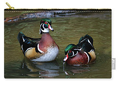 Quite The Pair Carry-all Pouch by Steve McKinzie
