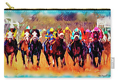 Race To The Finish Carry-all Pouch