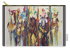 Races Carry-all Pouch by Heather Roddy