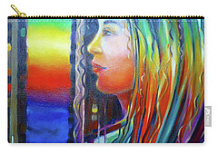 Rainbow Girl 241008 Carry-all Pouch