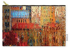 Carry-all Pouch featuring the photograph Rainy Day by Vladimir Kholostykh
