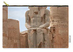Carry-all Pouch featuring the photograph Rameses by Silvia Bruno