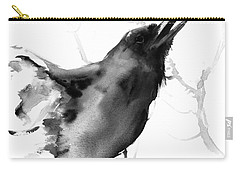 Raven Carry-all Pouch by Suren Nersisyan