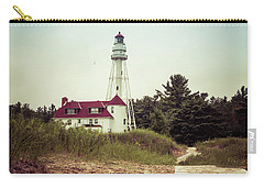 Carry-all Pouch featuring the photograph Rawley Point Lighthouse by Joel Witmeyer