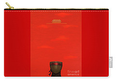 Red Impression Carry-all Pouch