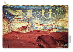 Red Rock Canyon Petroglyphs Carry-all Pouch