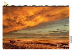 Red Rock Coulee Sunset 1 Carry-all Pouch