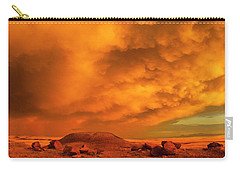 Red Rock Coulee Sunset 2 Carry-all Pouch