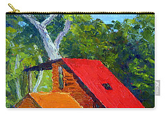 Red Roof Carry-all Pouch
