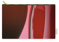 Red Wine Carry-all Pouch by Garry McMichael