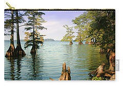 Carry-all Pouch featuring the photograph Reelfoot Lake by Bonnie Willis