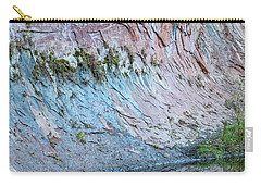 Carry-all Pouch featuring the photograph Reflections In Oak Creek Canyon by Sandra Bronstein