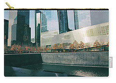 Carry-all Pouch featuring the photograph Reflections Of Sorrow by Jessica Jenney