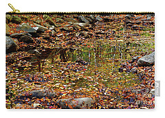 Reflections Of Fall Carry-all Pouch by Paul Mashburn
