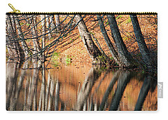 Carry-all Pouch featuring the photograph Reflections by Okan YILMAZ