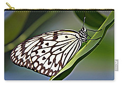 Rice Paper Butterfly 8 Carry-all Pouch