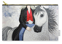 Ridin' Red Carry-all Pouch by Lance Headlee