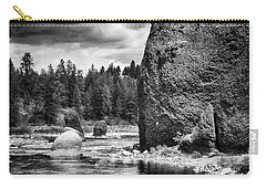 Riverside State Park Carry-all Pouch by Hugh Smith