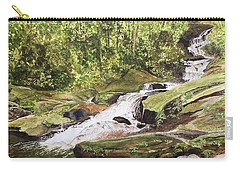 Roaring Fork Falls -- June 2017 Carry-all Pouch