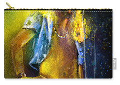 Robert Plant 01 Carry-all Pouch by Miki De Goodaboom