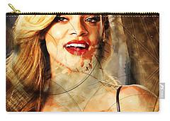 Robyn Rihanna Fenty - Rihanna Carry-all Pouch by Sir Josef - Social Critic -  Maha Art