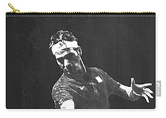 Roger Federer Carry-all Pouch by Semih Yurdabak