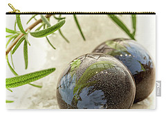 Carry-all Pouch featuring the photograph Rosemary Caramel Chocolate by Sabine Edrissi