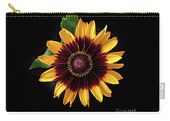 Carry-all Pouch featuring the photograph Rudbeckia 'denver Daisy' by Ann Jacobson