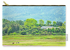 Rural Scenery In Spring Carry-all Pouch