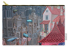 Saga Of The City Of Zeppelins Carry-all Pouch