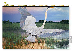 Sail Into Sunset Carry-all Pouch by Judy Kay