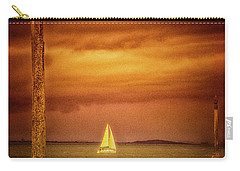 Sailing  ... Carry-all Pouch by Chuck Caramella