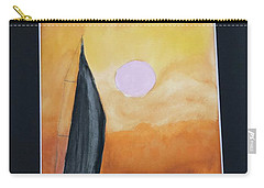 Carry-all Pouch featuring the painting Sailing by Donald Paczynski