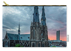 Saint Catherina Church In Eindhoven Carry-all Pouch