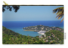 Carry-all Pouch featuring the photograph Saint Lucia by Gary Wonning