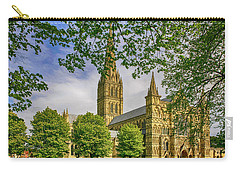 Salisbury Cathedral, Uk Carry-all Pouch