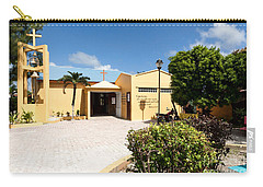 San Pedro Roman Catholic Church Carry-all Pouch by Lawrence Burry