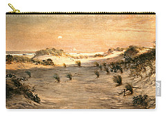Sand Dunes At Sunset, Atlantic City Carry-all Pouch