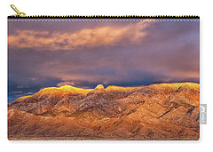 Sandia Crest Stormy Sunset Carry-all Pouch