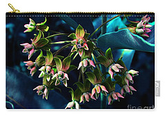 Carry-all Pouch featuring the photograph Satin by Elfriede Fulda