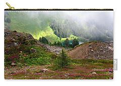 Carry-all Pouch featuring the photograph Sauk Mountain Lake by Karen Molenaar Terrell