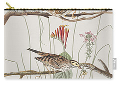 Savannah Finch Carry-all Pouch by John James Audubon