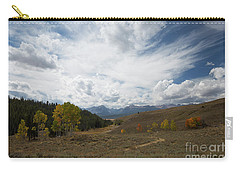 Sawtooth Skies Carry-all Pouch
