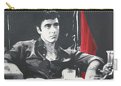 Scarface Carry-all Pouch by Luis Ludzska