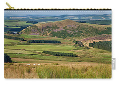 Scotland View From The English Borders Carry-all Pouch