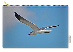 Carry-all Pouch featuring the photograph 1- Seagull by Joseph Keane