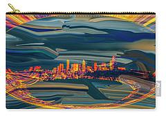 Seattle Swirl Carry-all Pouch by Dale Stillman